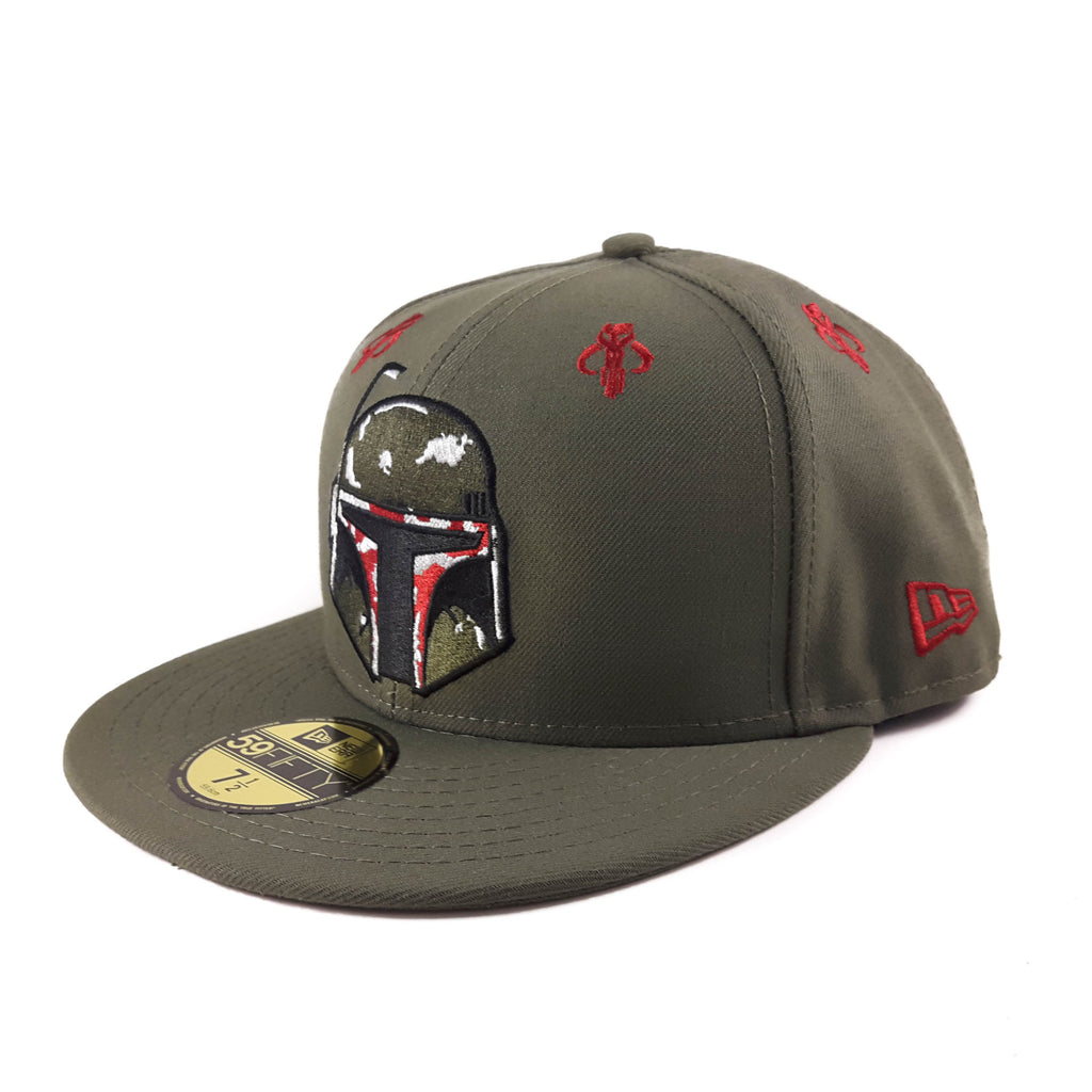 Hero Stargazer Star Wars Boba Fett 59Fifty Fitted Cap