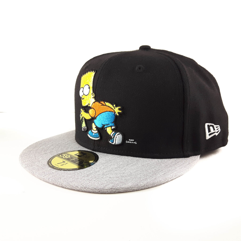 The Simpsons Bart Simpsons Spray New Era 59Fifty Fitted Cap