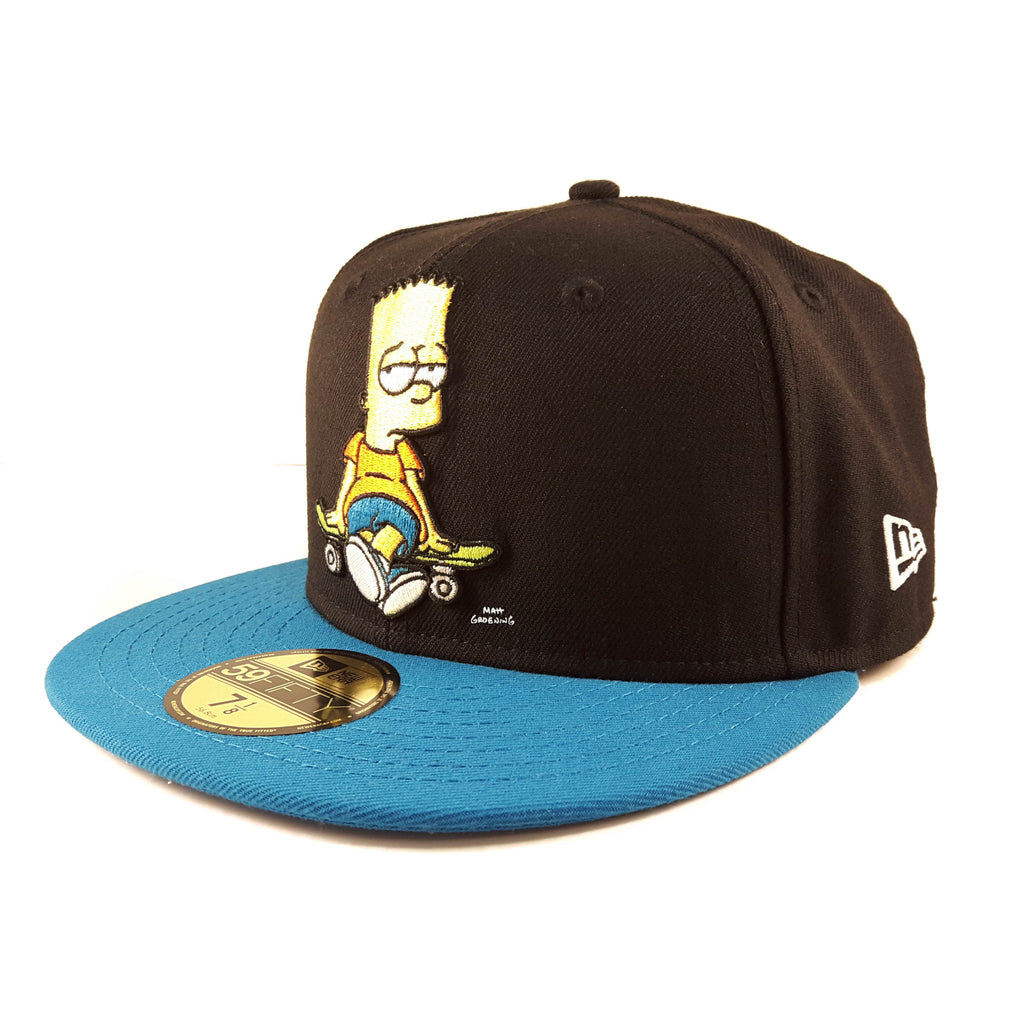 Sold Out The Simpsons Bart Simpsons Bored New Era 59Fifty Fitted Cap 4603cac321f