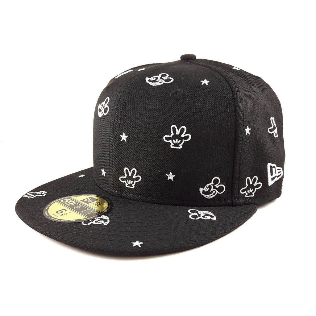 Disney All-Over Mickey Mouse New Era 59Fifty Fitted Cap