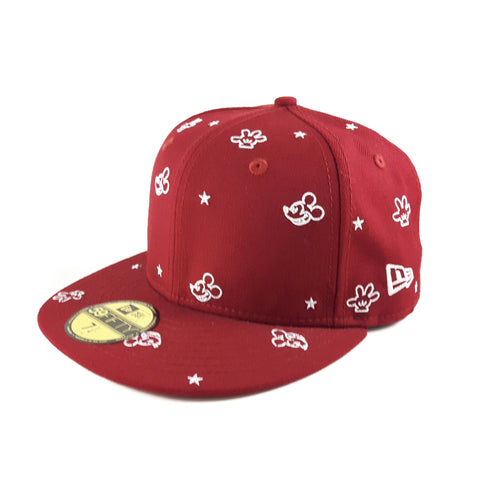 d00d90fa Sold Out Disney All-Over Mickey Mouse Red New Era 59Fifty Fitted Cap
