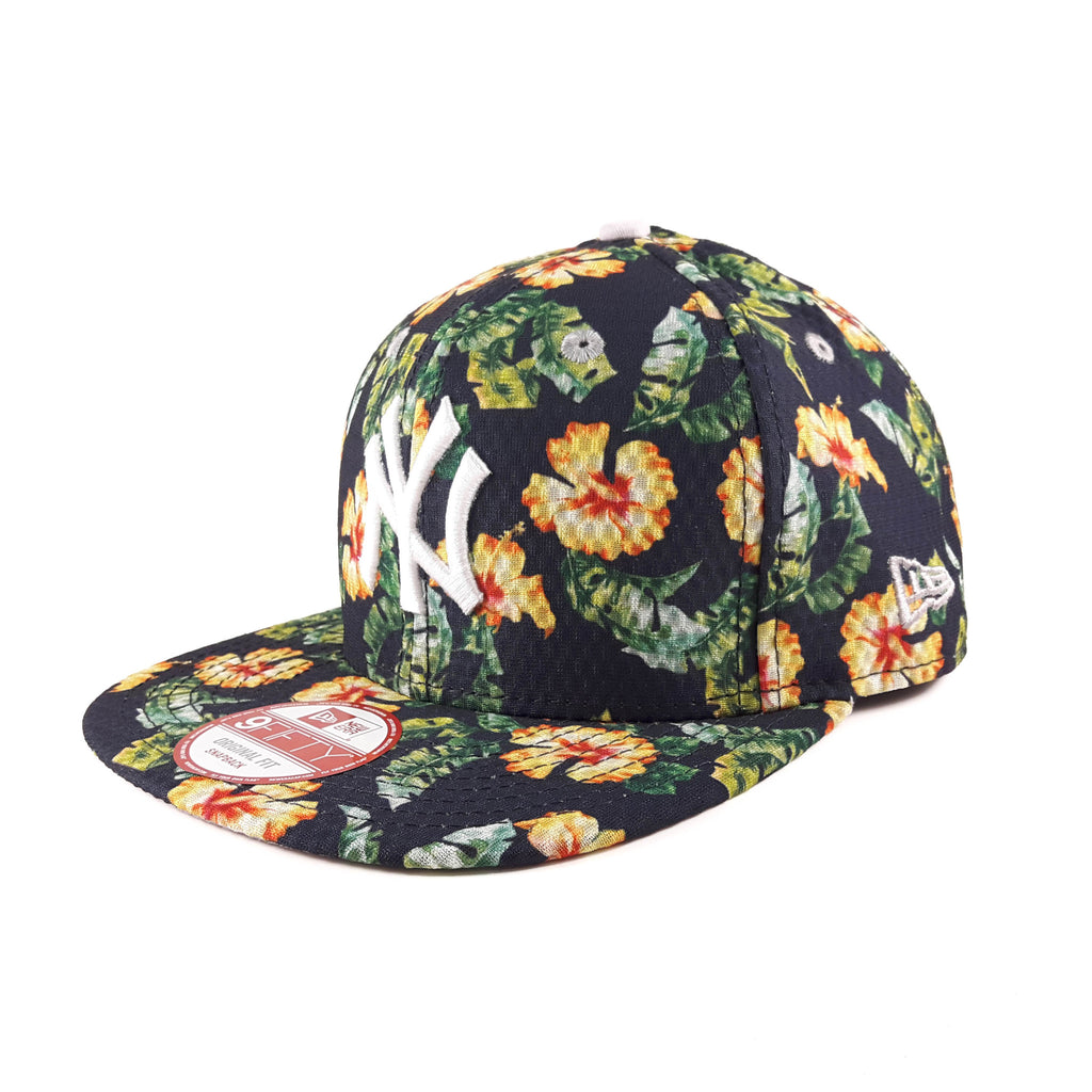 MLB New York Yankees Blooming Team New Era 9Fifty Snapback Cap