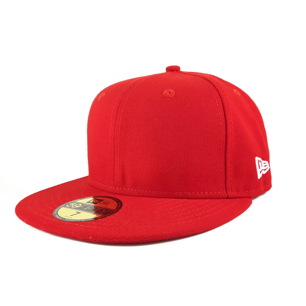 Neo-Plain Scarlet Red New Era 59Fifty Fitted Cap