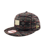 New Era Brand Geological Metal Badge 9Fifty Snapback Cap