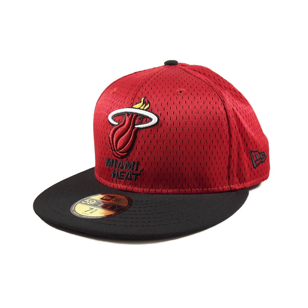 NBA Jersey Miami Heat New Era 59Fifty Fitted Cap