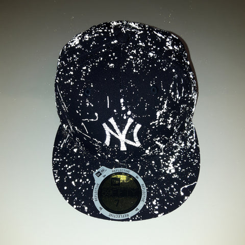 Reflective Ink MLB New York Yankees New Era 59Fifty Fitted Cap ... f0a9027ac8bb