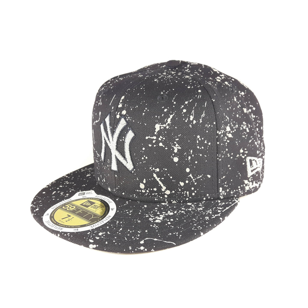 Reflective Ink MLB New York Yankees New Era 59Fifty Fitted Cap