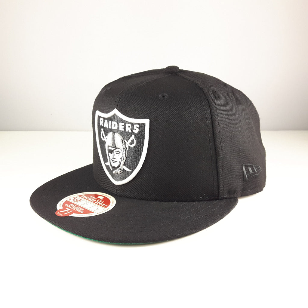 Heritage Series Bay Area NFL Oakland Raiders New Era 59Fifty Fitted Cap