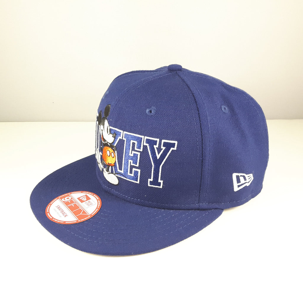 Disney Mickey Mouse Blue New Era 9Fifty Snapback Cap