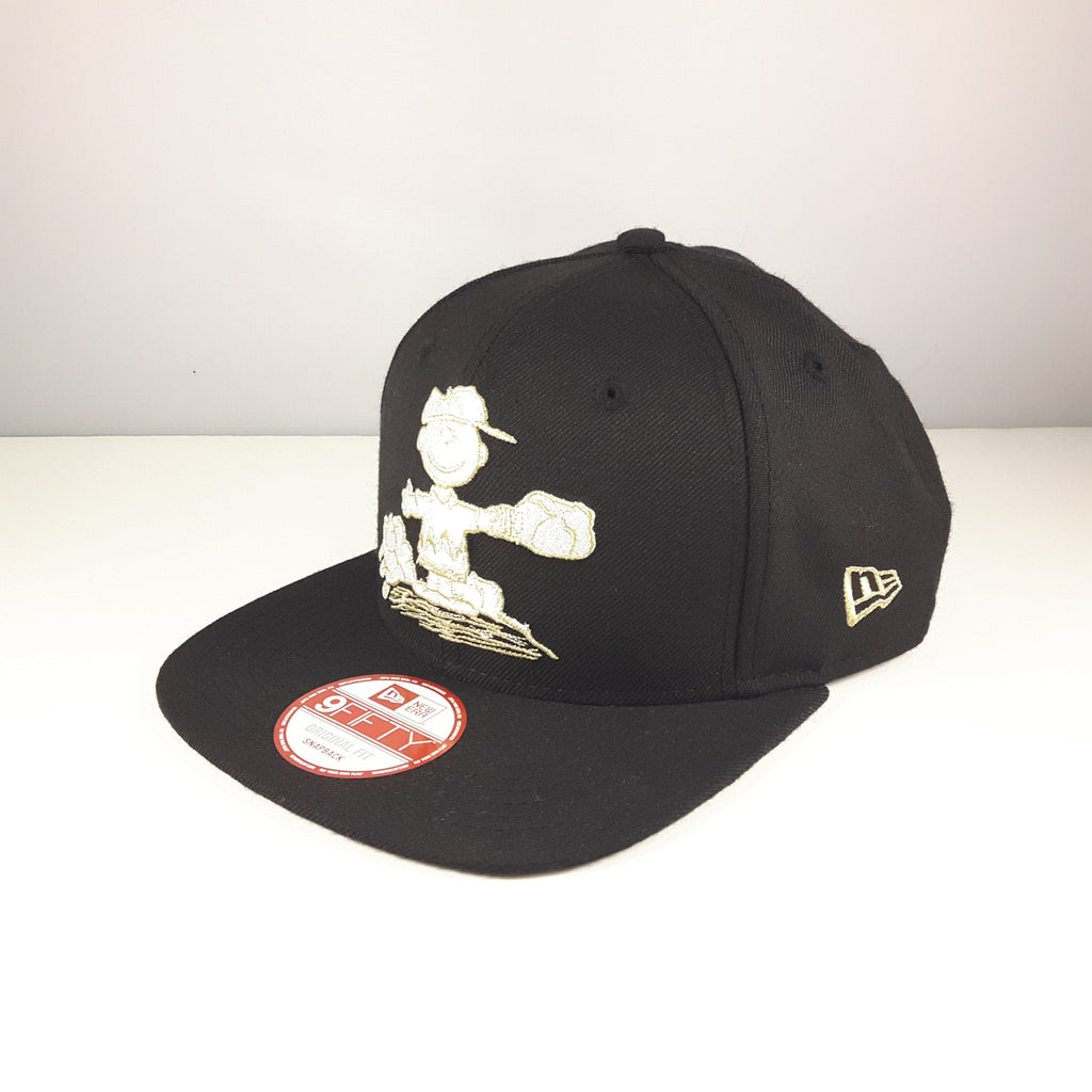 Snoopy Charlie Brown New Era 9Fifty Snapback Cap