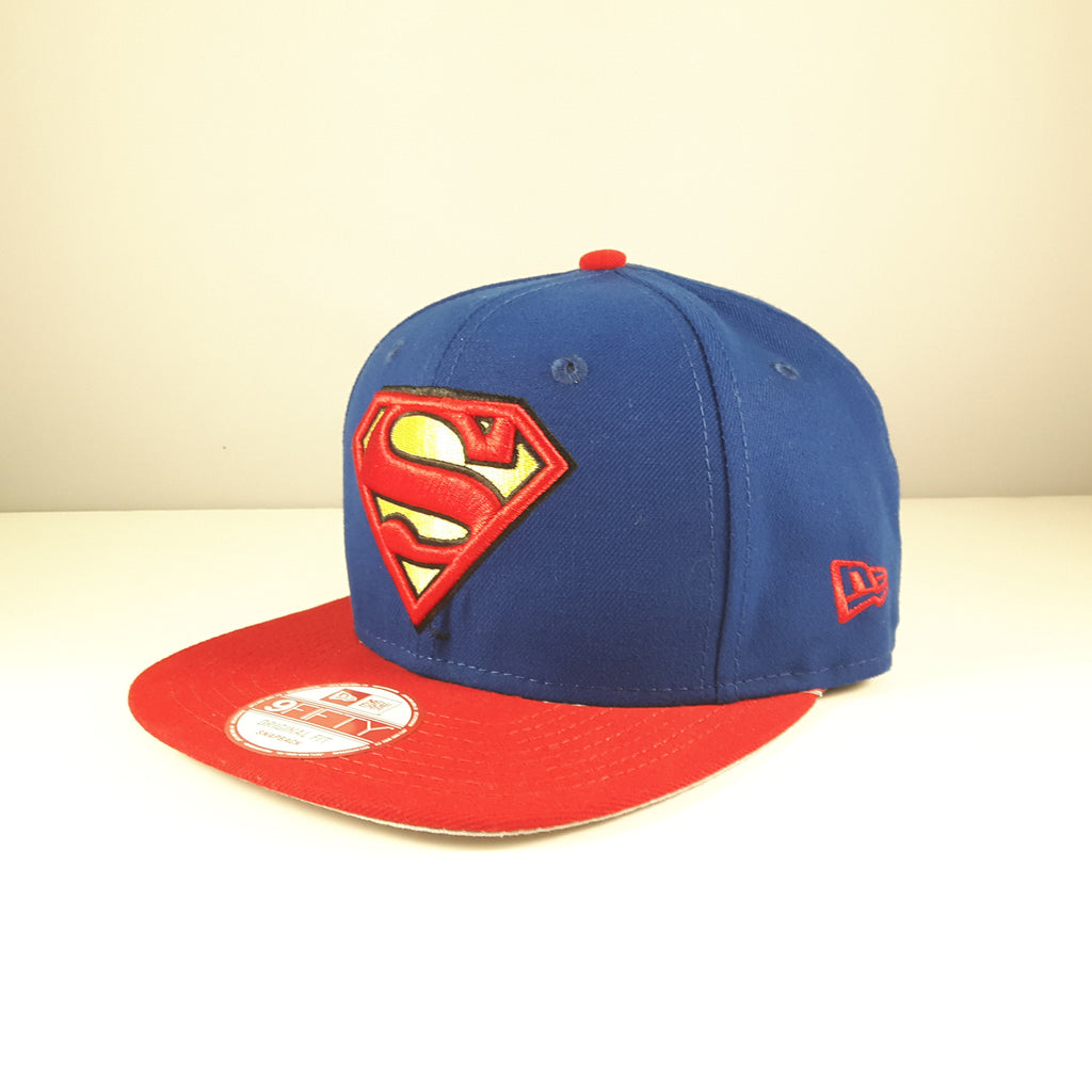 DC Comics Quarter Sublimated Superman New Era 9Fifty Snapback Cap