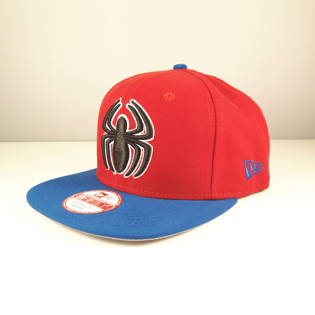 Quarter Sublimated Marvel Spider-Man New Era 9Fifty Snapback Cap