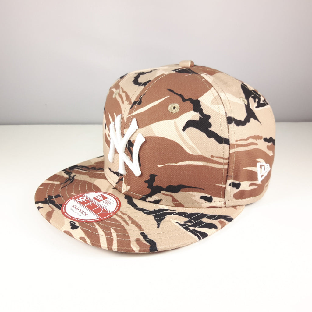MLB New York Yankees Camo New Era 9Fifty Snapback Cap