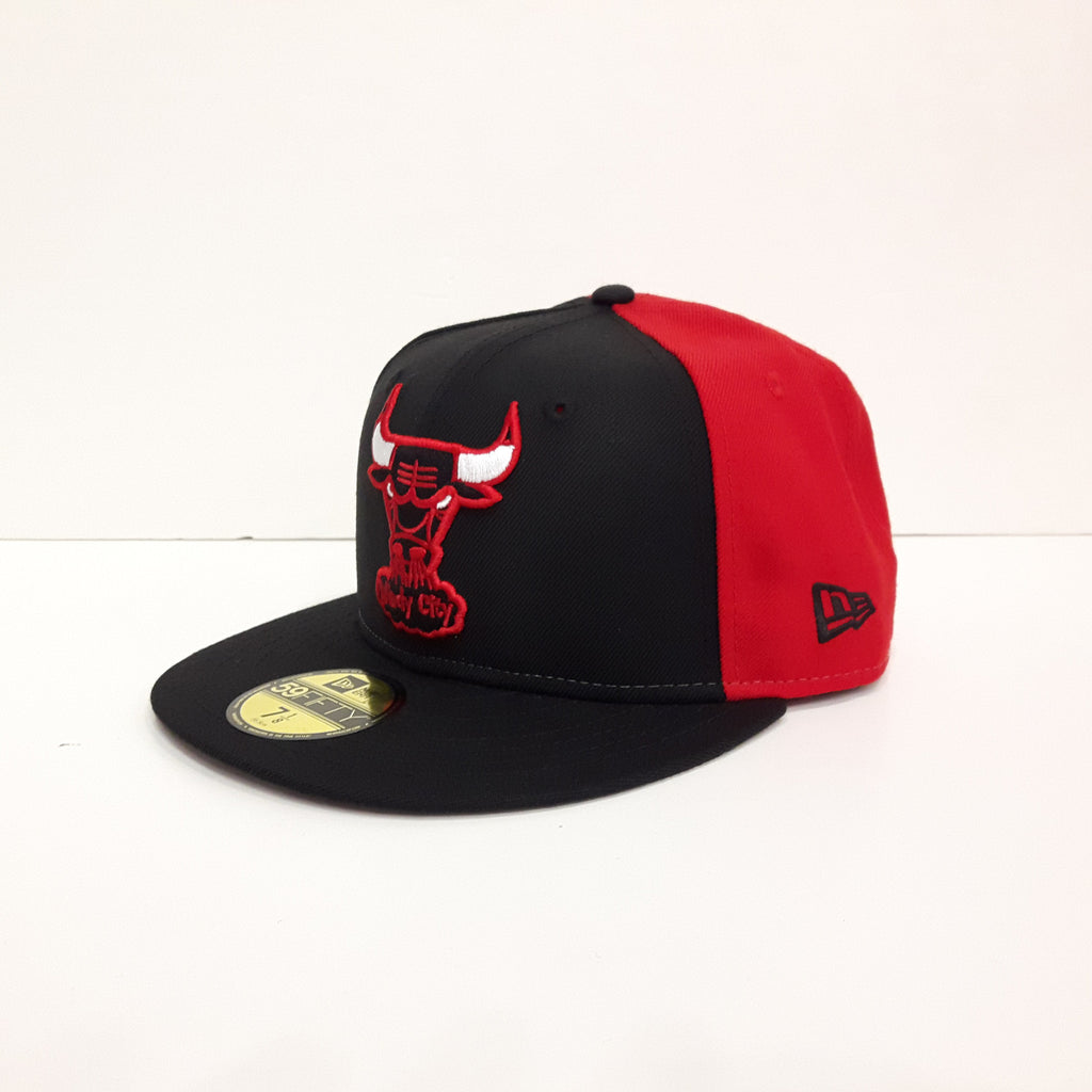 Sideline NBA Chicago Bulls New Era 59Fifty Fitted Cap – urban TEE b7a41ae85d1
