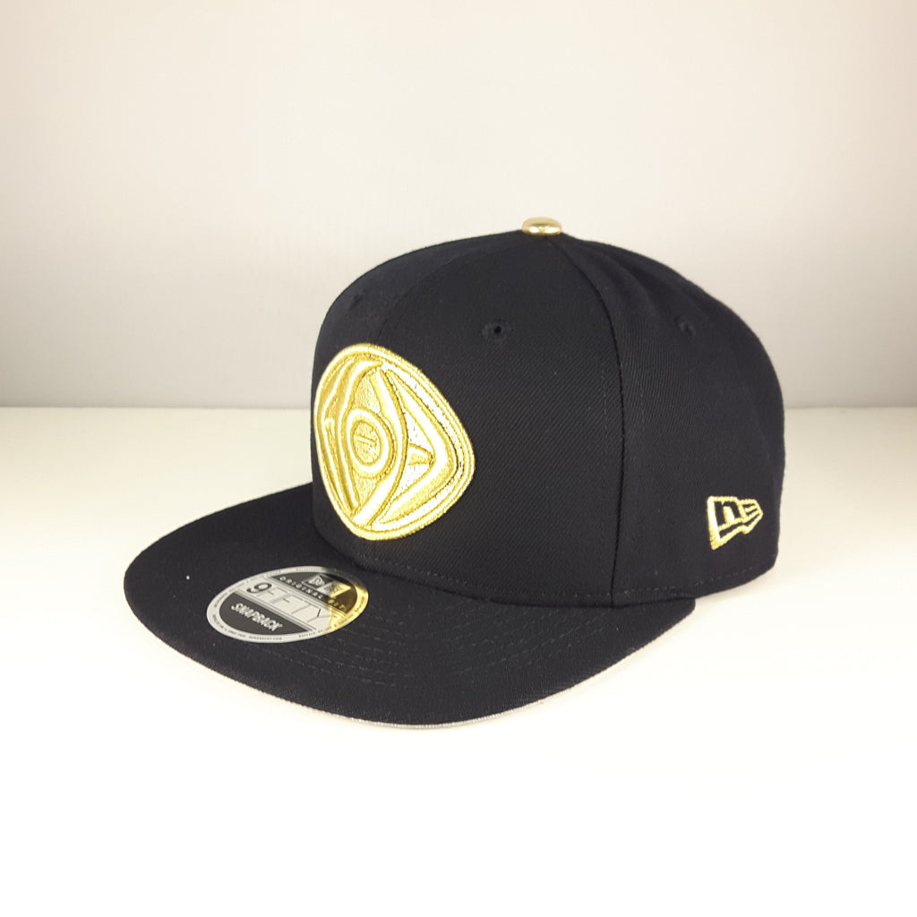 Marvel Dr. Strange Gold Logo New Era 9Fifty Snapback Cap