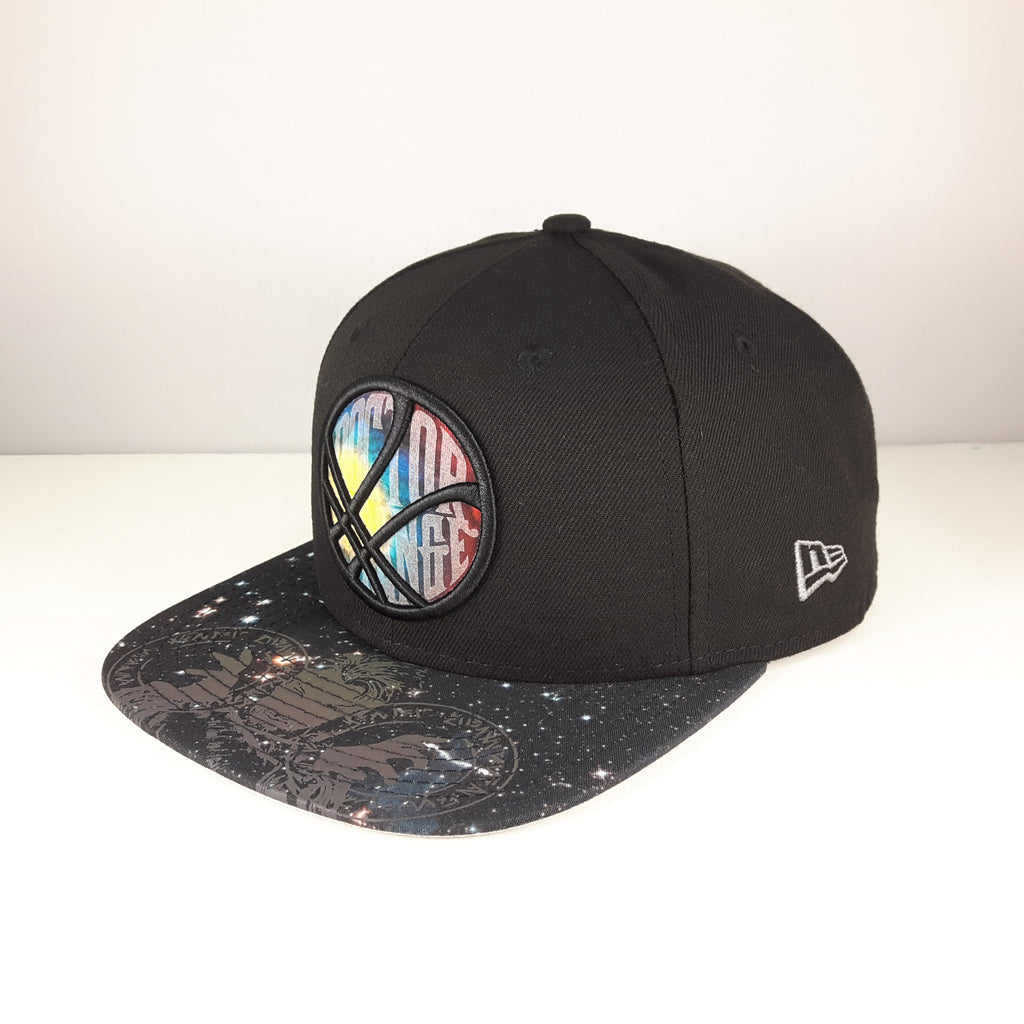 Marvel Dr. Strange Reflective Galaxy Visor New Era 9Fifty Snapback Cap