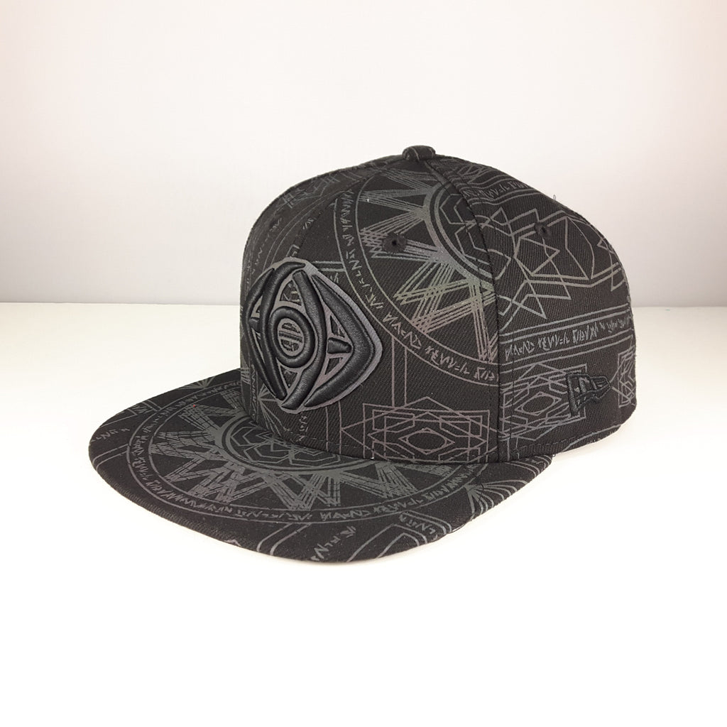 Marvel Dr. Strange All-Over Reflective New Era 9Fifty Snapback Cap