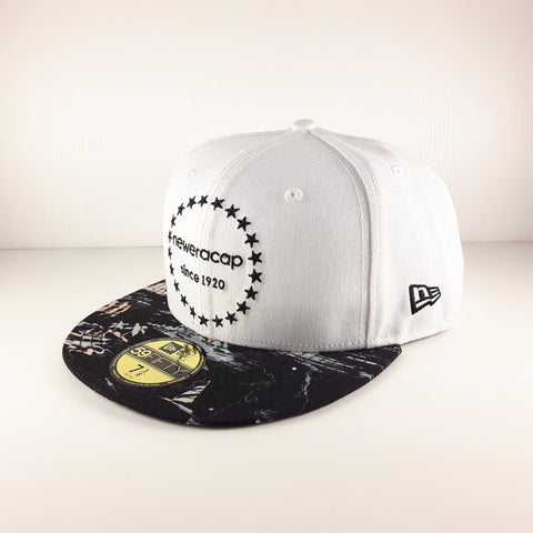 New Era Brand Kau Wela White 59Fifty Fitted Cap