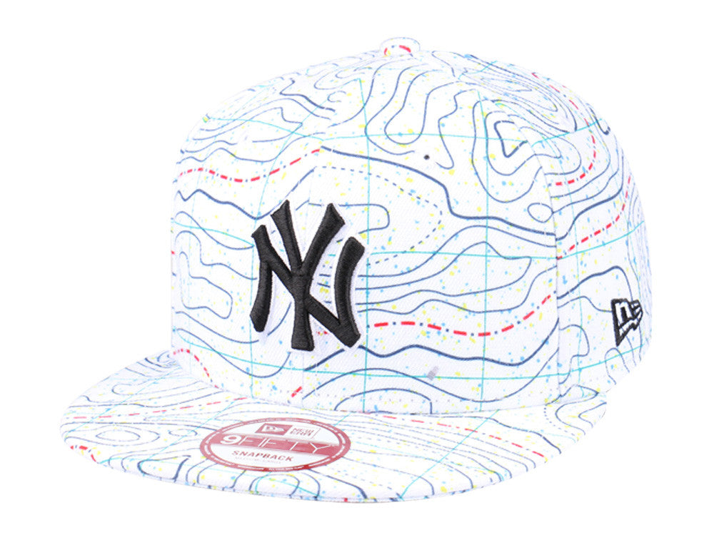 MLB New York Yankees Geological Survey New Era 9Fifty Snapback Cap