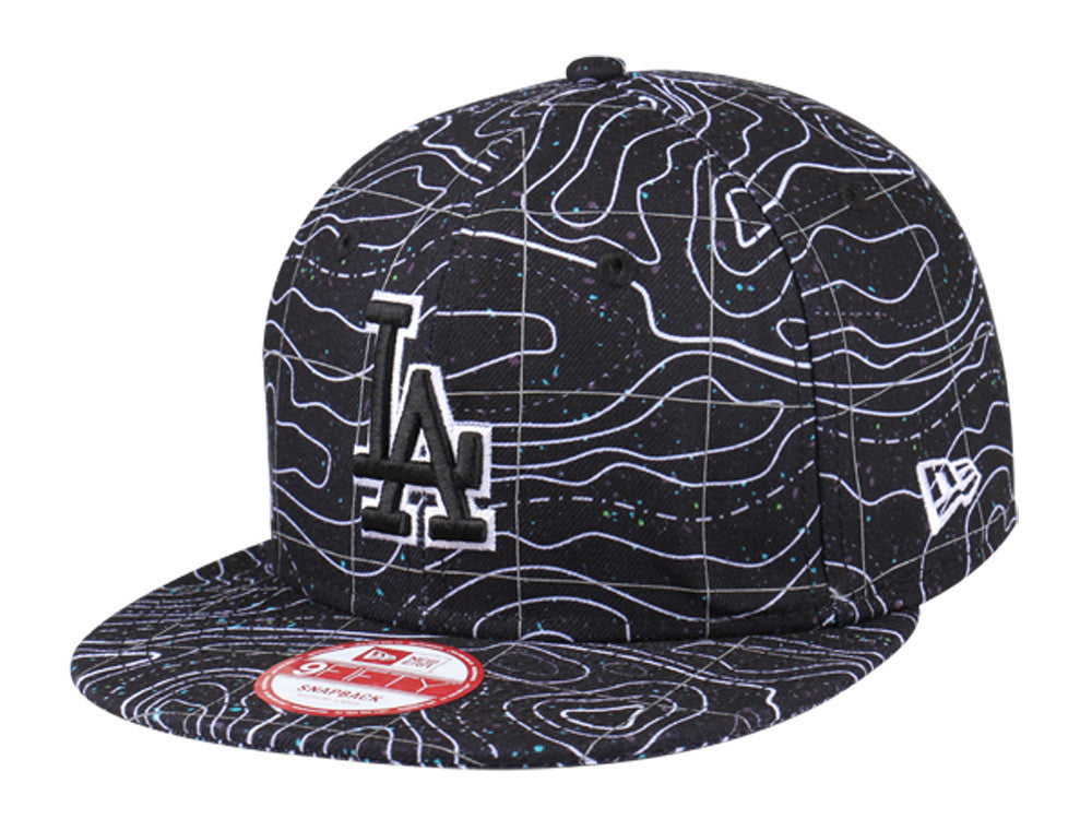 MLB Los Angeles Dodgers Geological Survey New Era 9Fifty Snapback Cap