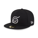 Naruto Konoha Hidden Leaf Village New Era 59Fifty Fitted Cap