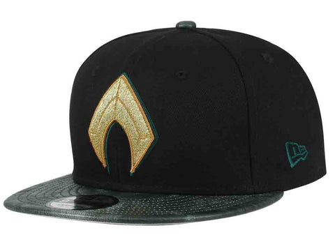 DC Comics Justice League Aquaman New Era 9Fifty Snapback Cap
