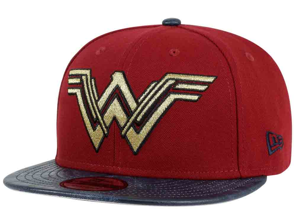 huge selection of 1655a 84cd3 Sold Out DC Comics Justice League Wonder Woman New Era 9Fifty Snapback Cap