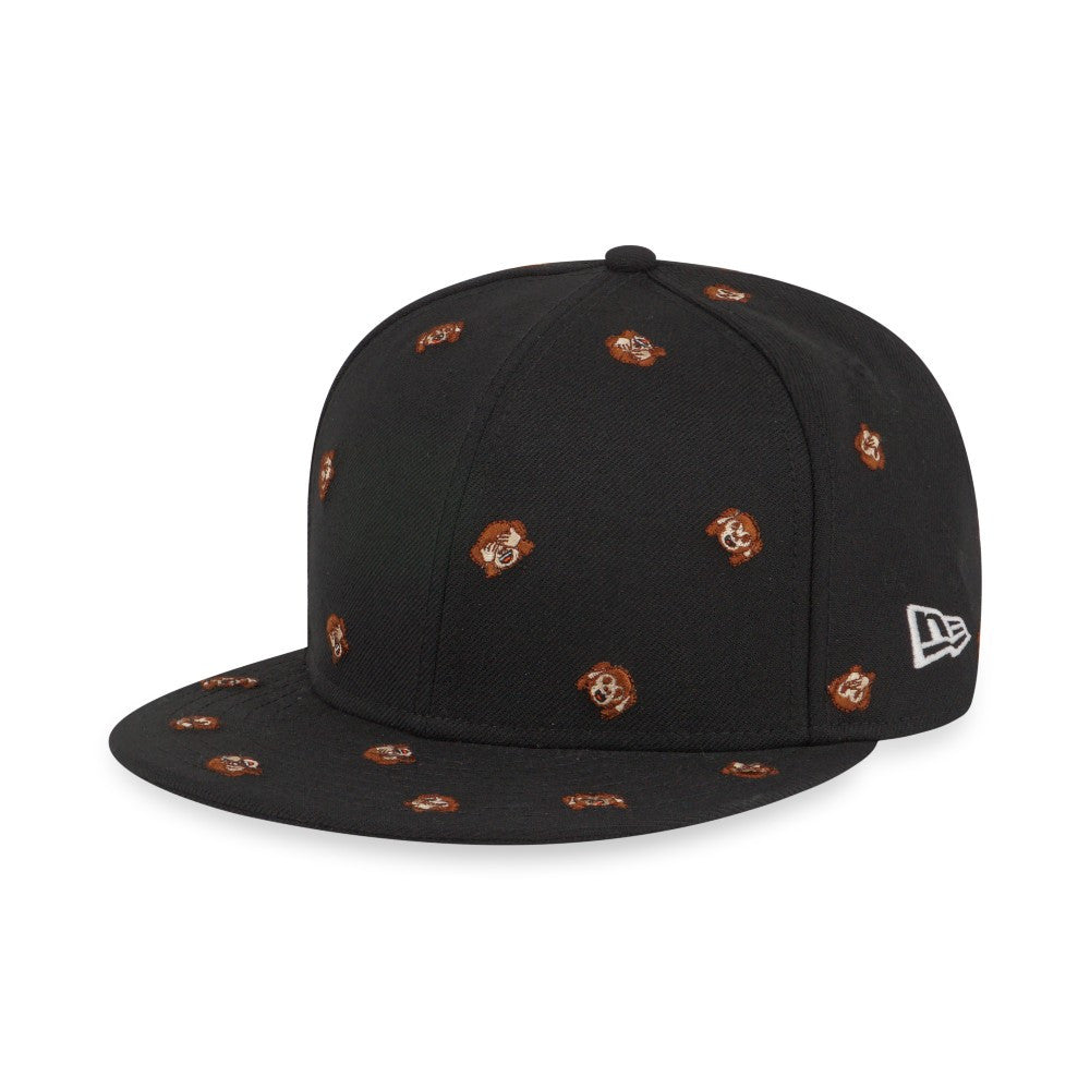 EMOJI Monkey Faces New Era 9Fifty Snapback Cap