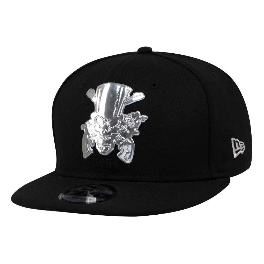 Guns N' Roses Silver Logo New Era 9Fifty Snapback Cap