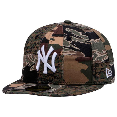 2edb98af074 MLB Camo Patchwork New York Yankees New Era 59Fifty Fitted Cap