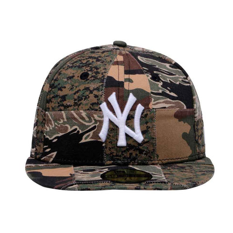88a6c1cdf46 ... denmark mlb camo patchwork new york yankees new era 59fifty fitted cap  38ca3 ddbf7