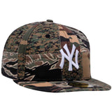 MLB Camo Patchwork New York Yankees New Era 59Fifty Fitted Cap