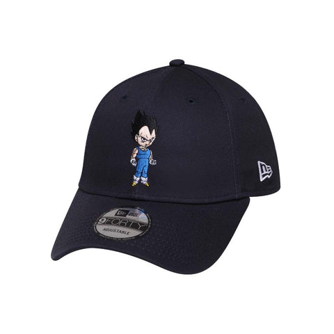 Dragon Ball Z Vegeta Navy New Era 9Forty Snapback Cap