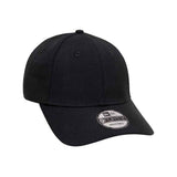 New Era Brand Black Crystal 9Forty Strapback Cap