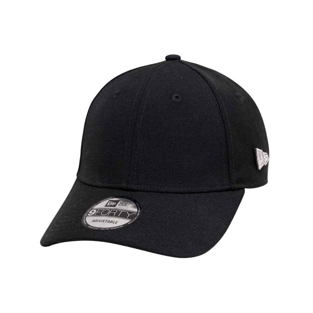 New Era Brand Silver Crystal 9Forty Strapback Cap