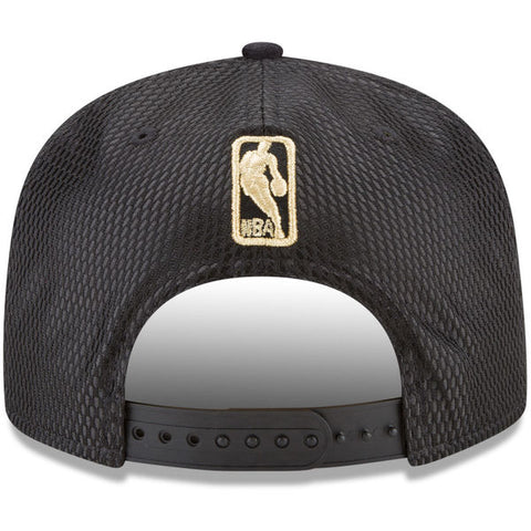 separation shoes 797ab 067dc ... NBA On-Court Cleveland Cavaliers Gold Logo New Era 9Fifty Snapback Cap  ...