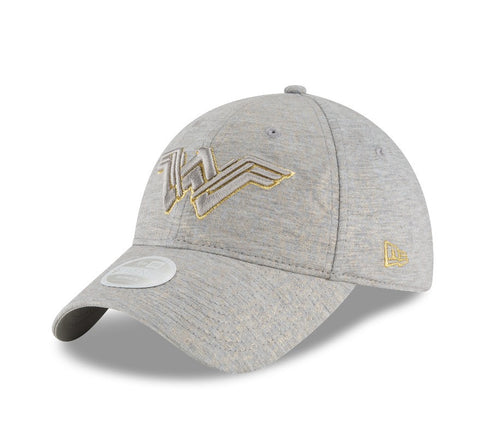 DC Comics Wonder Woman Gold Sheen New Era 9Twenty Strapback Cap