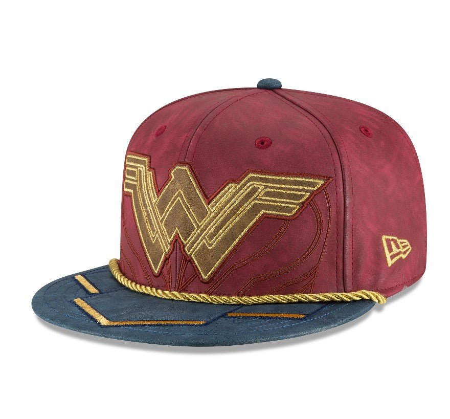 DC Comics Wonder Woman Movie Character Armor New Era 59Fifty Fitted Cap
