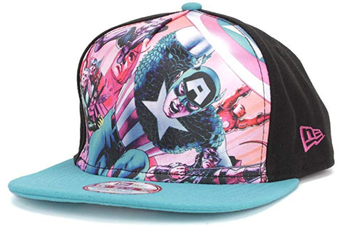 Marvel Avengers Team Stance New Era 9Fifty A-Frame Snapback Cap