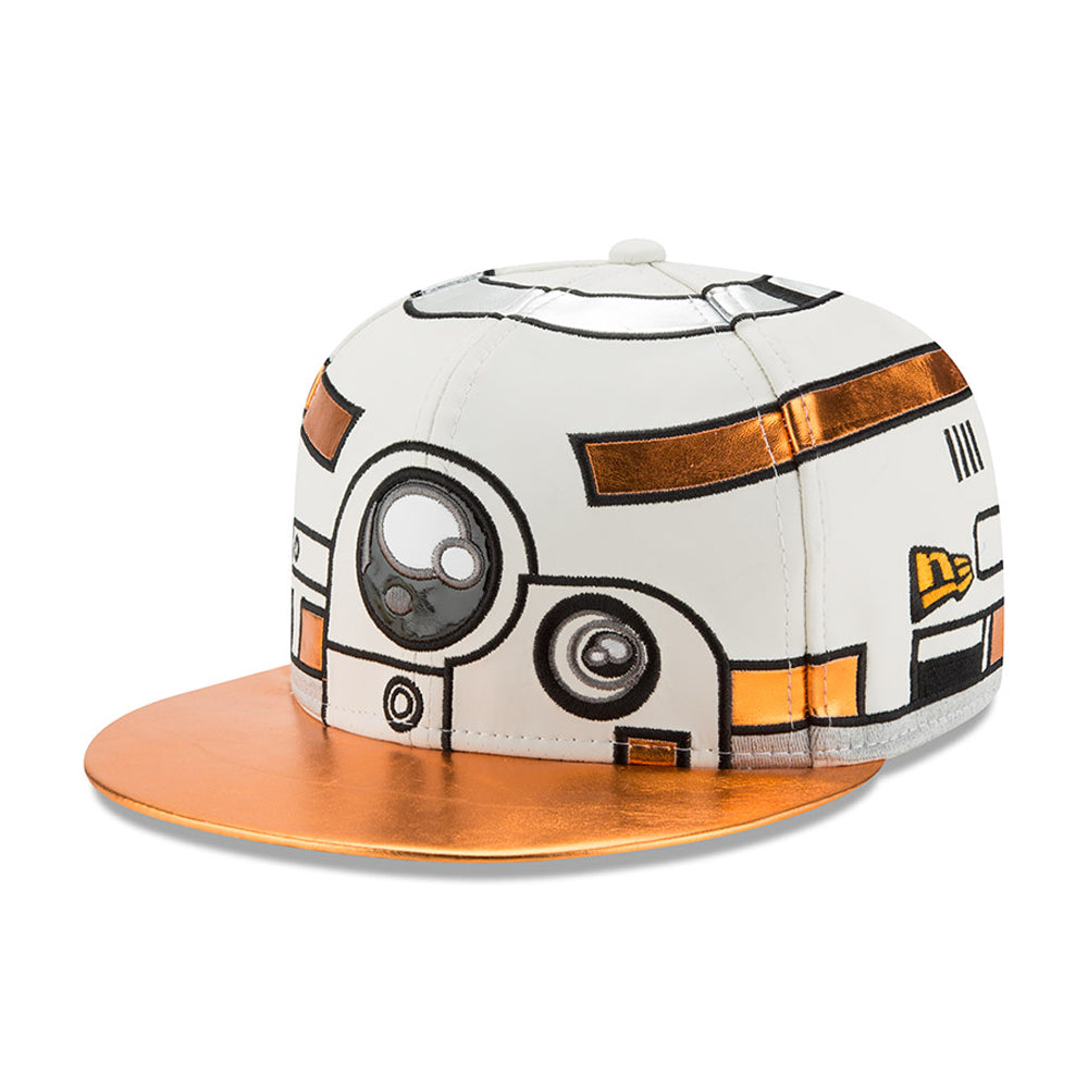 45912e22b44 Star Wars The Last Jedi BB-8 Character Face New Era 59Fifty Fitted Cap –  urban TEE