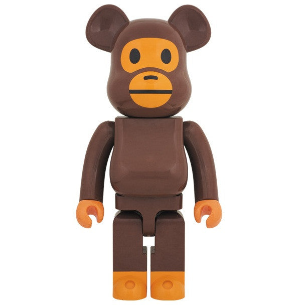 BEARBRICK 1000% Baby Milo (A Bathing Ape)