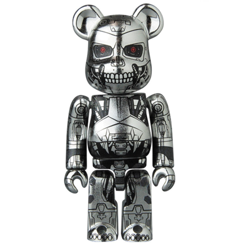 BEARBRICK Series 32 Sci-Fi (T-800)