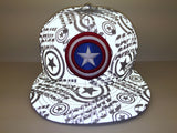 Reflective Marvel Captain America New Era 59Fifty Fitted Cap
