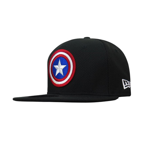Marvel Captain America Logo New Era 9Fifty Snapback Cap