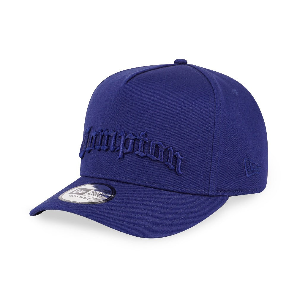 Compton Dark Royal Blue New Era 9Forty D-Frame Strapback Cap
