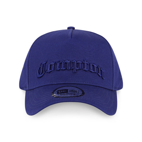 9954338badb ... discount compton dark royal blue new era 9forty d frame strapback cap  4e367 e0f11