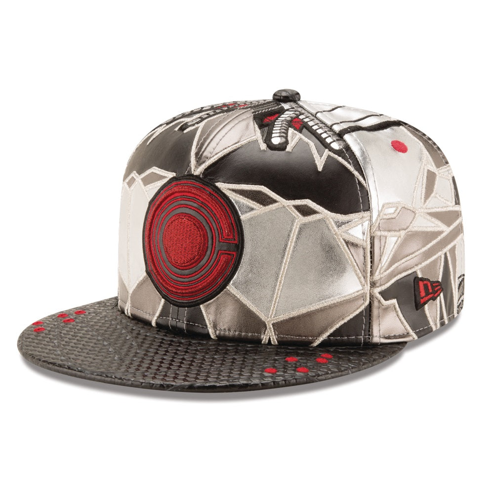 DC Comics Justice League Cyborg Character Armor New Era 59Fifty Fitted Cap