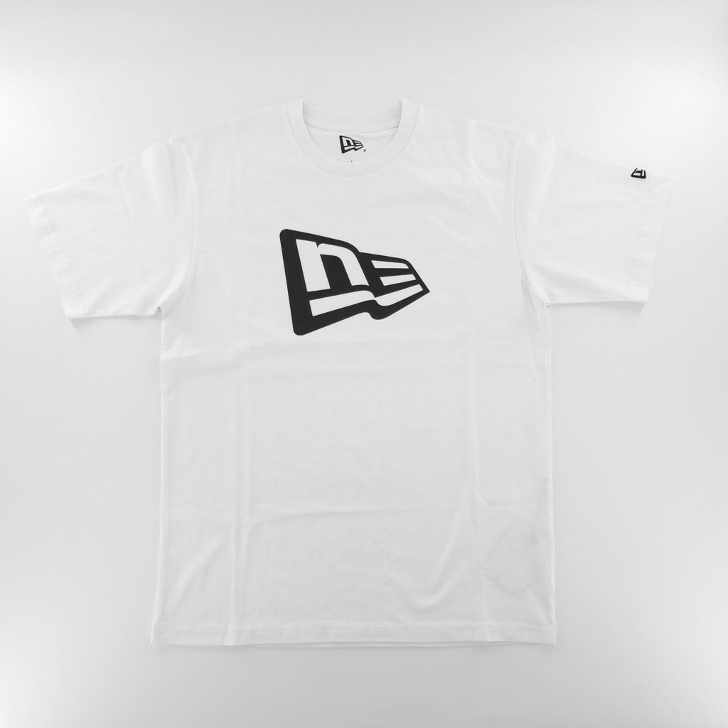 New Era Basic NE Logo White T-Shirt