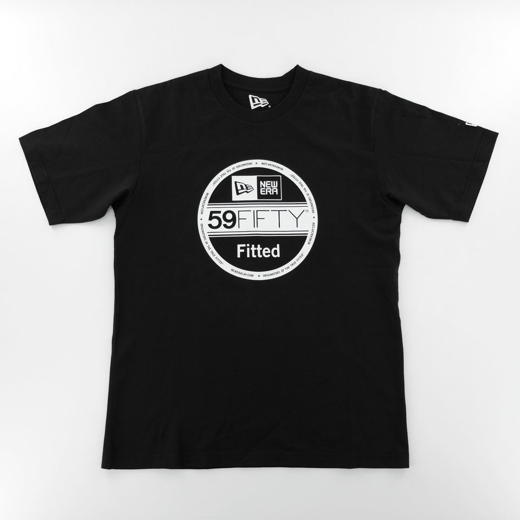 New Era Basic 59Fifty Fitted Sticker Black T-Shirt