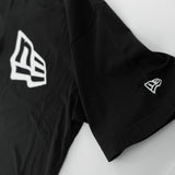 New Era Basic NE White Logo Black T-Shirt